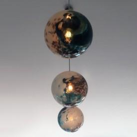 Ceiling Globe Trio Cluster