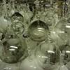 hand blown bespoke glass