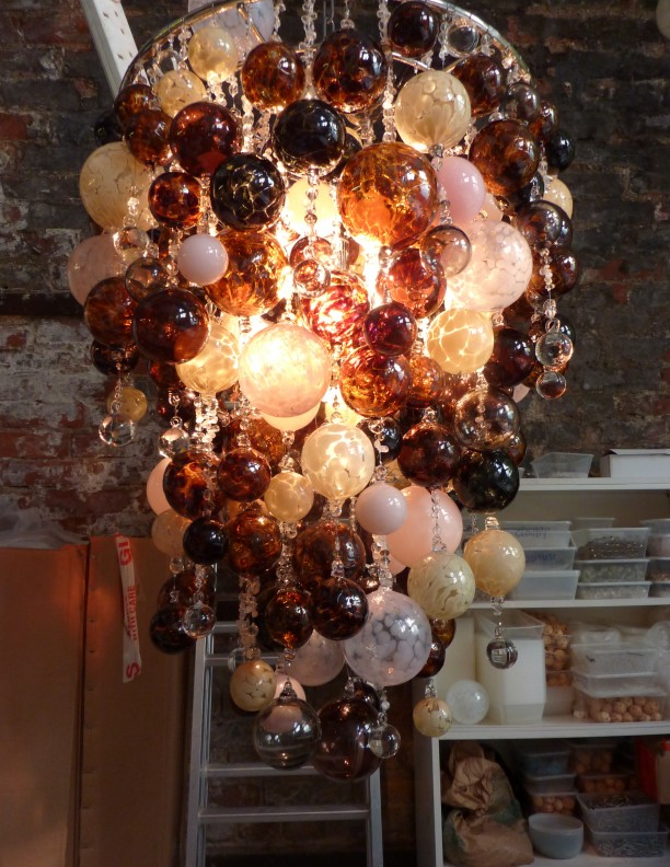 Contemporary Chandeliers arty blown glass Pendant Lighting unusual quirky Modern Chandeliers hand crafted finest Chandelier Long Bespoke Chandeliers Luxury bedroom (5)