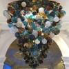Pendant Lighting Chandelier Wide European blown glass split level hand crafted bedroom Chandelier Bespoke Luxury (17)