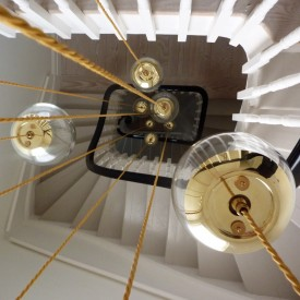 Ceiling Globe Pendants Clear